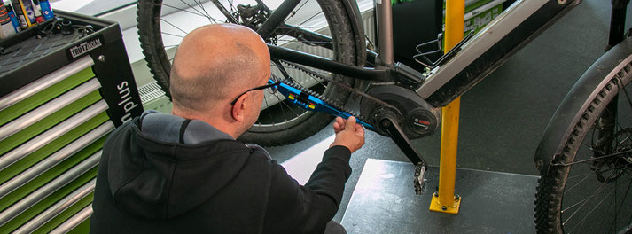 e-Bike Service in unserer Werkstatt
