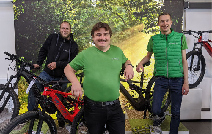 kompetente e-Bike Beratung vom e-motion e-Bike Team in Reutlingen