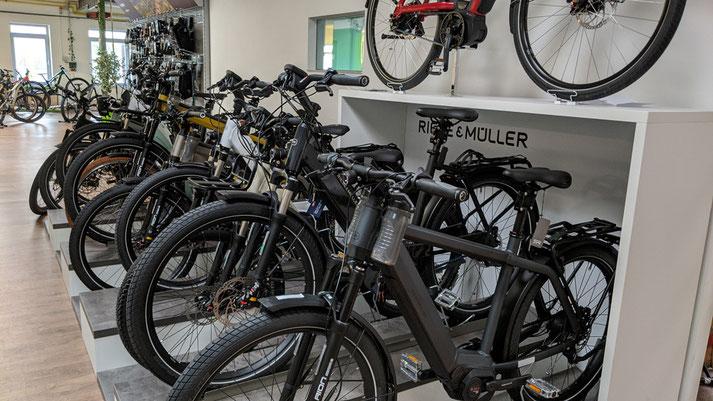 Riese & Müller in der e-motion e-Bike Welt in Halver kaufen