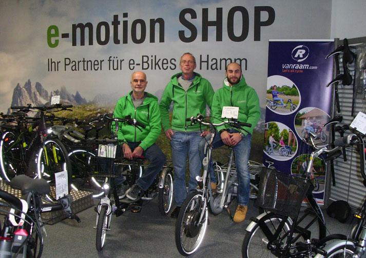 Pedelecs mit 25 km/h oder 45 km/h Unterstützung kaufen und Probefahren in Hamm
