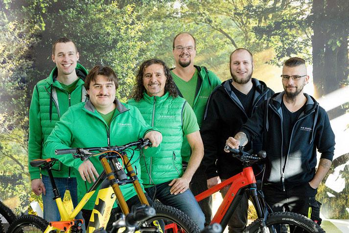 Das Experten-Team der e-motion e-Bike Welt Reutlingen