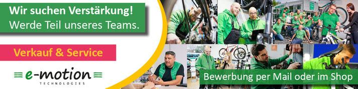 Jobs in der e-motion e-Bike Welt Bad Kreuznach
