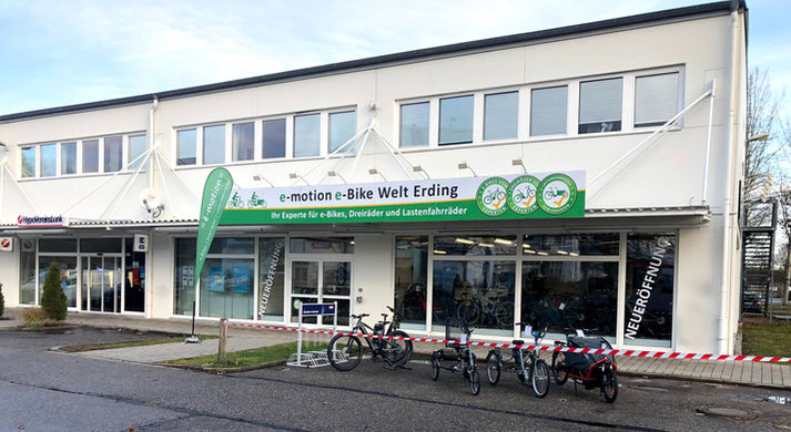 e-motion e-Bike Welt Erding
