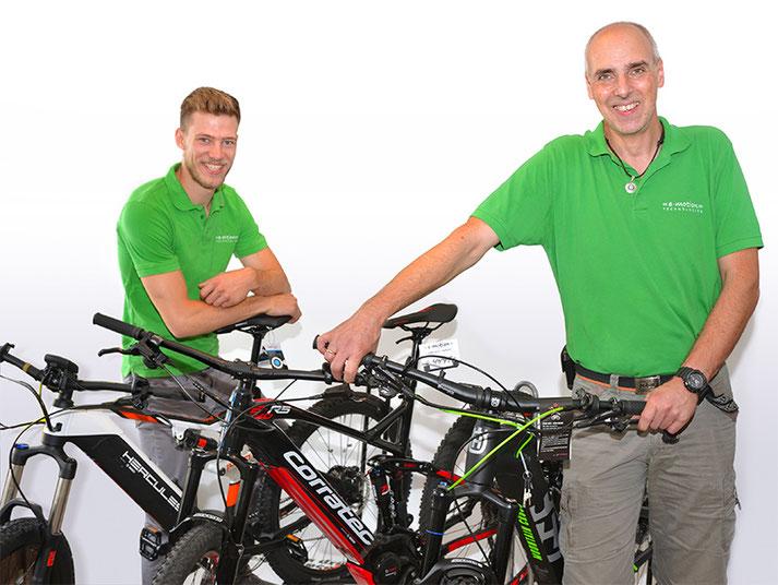 Unsere Experten in Herdecke können Sie bei allem rund um's Lasten e-Bike beraten