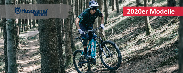 Husqvarna e-Bikes - mit e-MTBs, Pedelecs und Speed-Pedelecs 2020