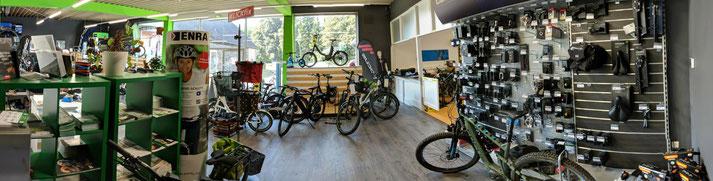 Panorama-Ansicht - Unsere e-motion e-Bike Welt Harz