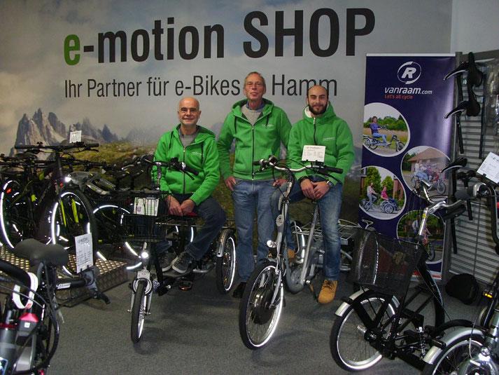 Elektrofahrräder mit 25 km/h oder 45 km/h Unterstützung kaufen und Probefahren in Hamm