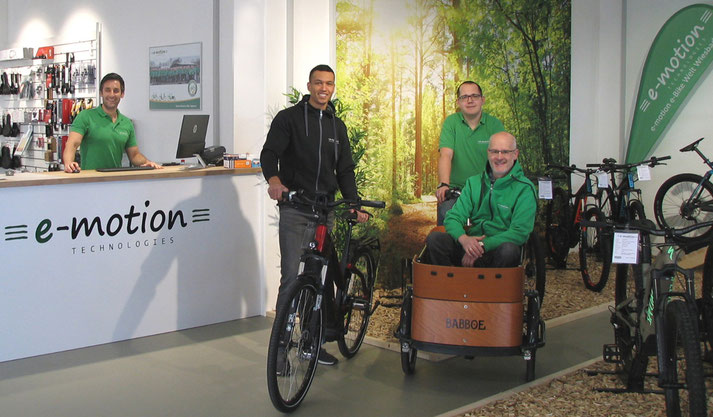e-Bike Service in der e-motion e-Bike Welt Wiesbaden
