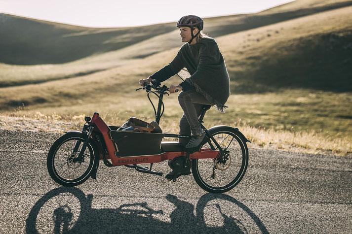 Lasten e-Bikes im e-motion e-Bike Premium Shop in Frankfurt probefahren und von Experten beraten lassen