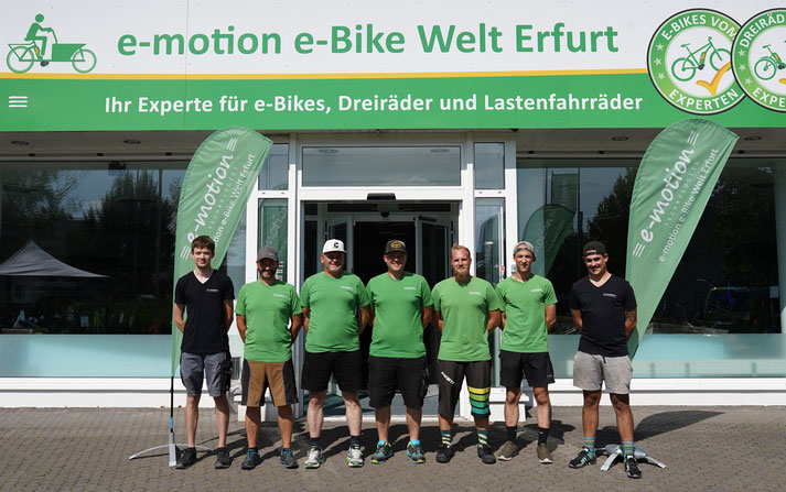 In der e-motion e-Bike Welt in Erfurt können Sie alles rund um das Thema Falt- und Kompaktrad erfahren.