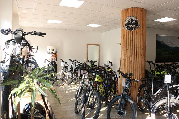 In der e-motion e-Bike Welt in Herdecke können Sie alles rund um das Thema Falt- und Kompaktrad erfahren.