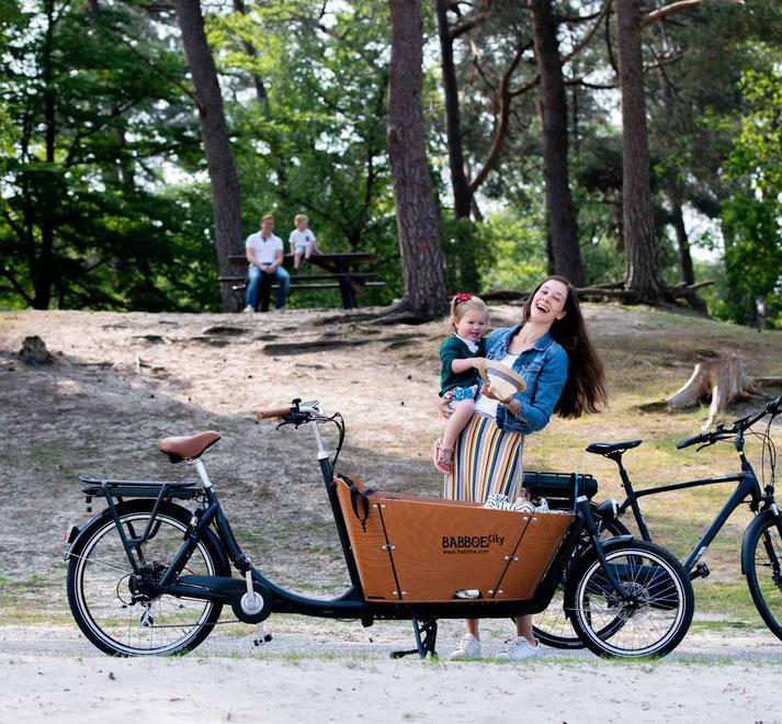 Unsere Experten in Halver können Sie bei allem rund um's Lasten e-Bike beraten