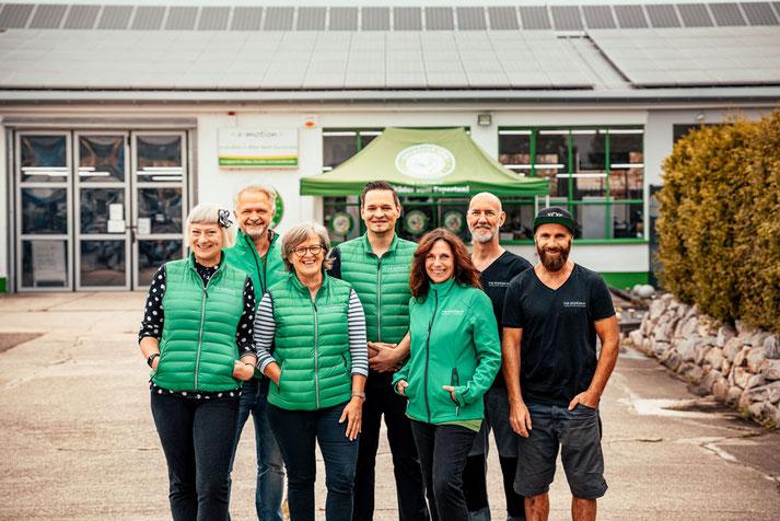 Das Team der e-motion e-Bike Karlsruhe
