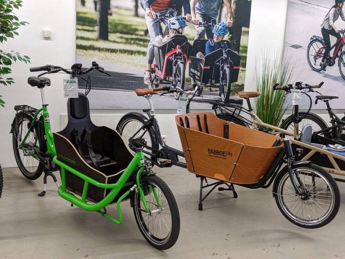 Unsere Experten in Gießen können Sie bei allem rund um's Lasten e-Bike beraten