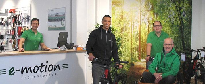 Beratungstermine  in der e-motion e-Bike Welt Wiesbaden online buchen