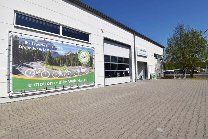 Ihr e-Bike Experte in Hanau - die e-motion e-Bike Welt Hanau
