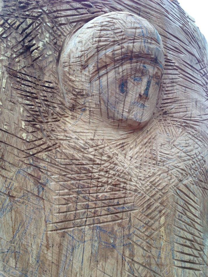 Erzengel Michael, Detail