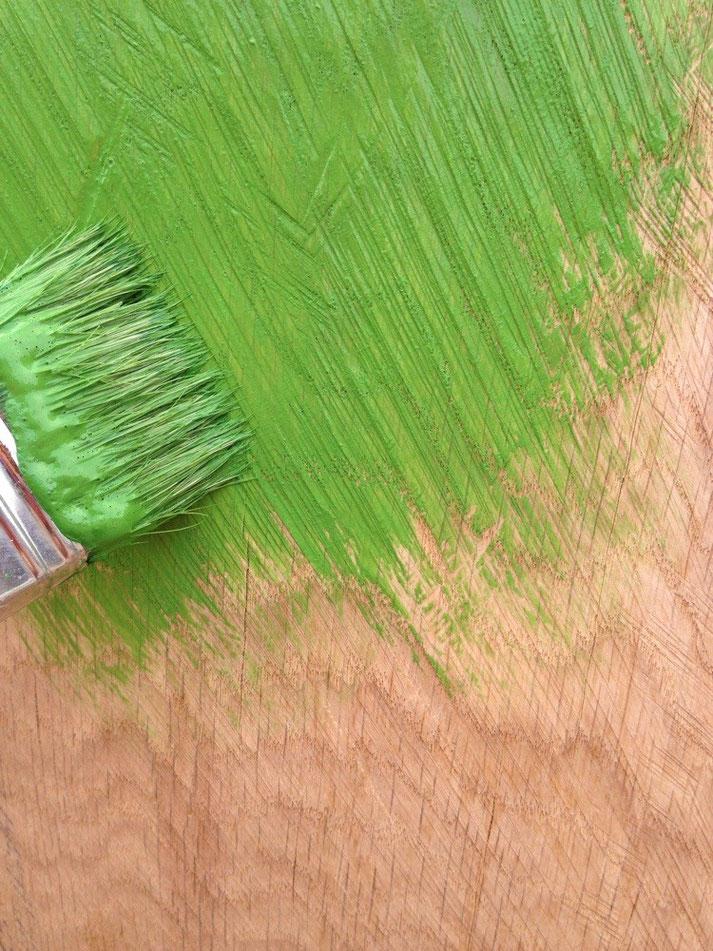 Gori Grün auf Eiche
