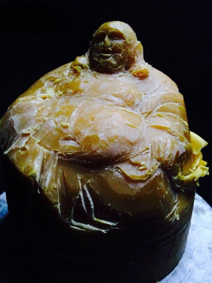 Modell Buddha für Bienen, work in progress