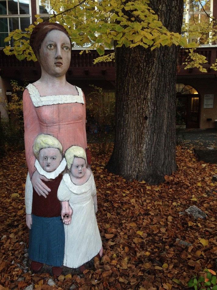 Restaurierung Figurenbeute Luise Rückert Erlangen 29.10.2015