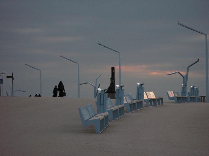 Abendstimmung Boulevard von Scheveningen