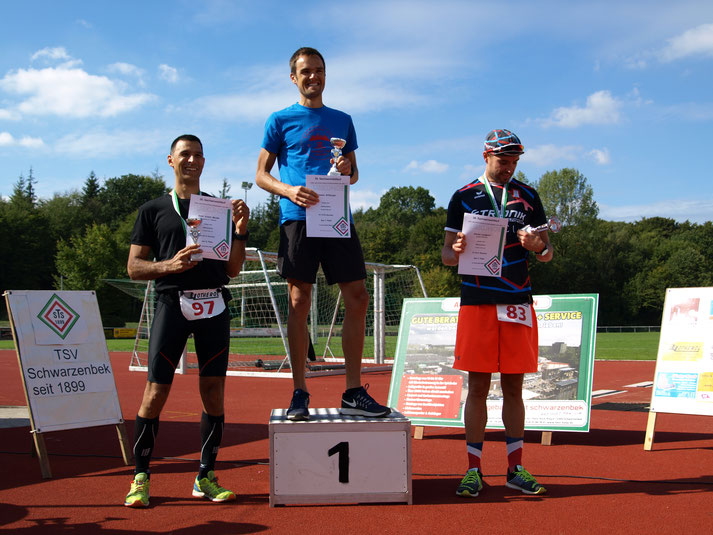 Sachsenwald-Streckenrekord im HM durch Johannes Willburger in 01:15:52