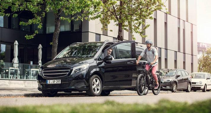 Das Bosch ABS für e-Bikes bewahrt Sie vor dem Überschlagen bei plötzlichem Bremsen