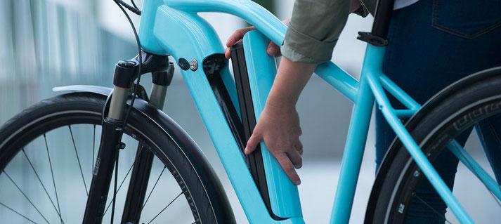 Der integrierte Bosch Power Tube Akku bietet einige unschlagbare Vorteile für e-Bike Fahrer