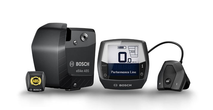 Die Komponenten des Bosch ABS