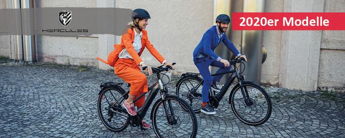 Hercules e-Mountainbikes, Trekking e-Bikes und Speed-Pedelecs 2020 bei Ihrem e-motion e-Bike Experten Probefahren, Beratung und kaufen