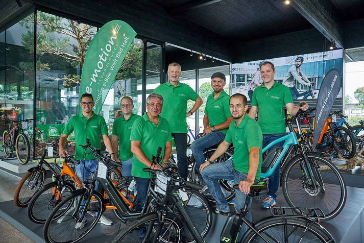 e-Mountainbikes kaufen in der e-motion e-Bike Welt in Bad Hall