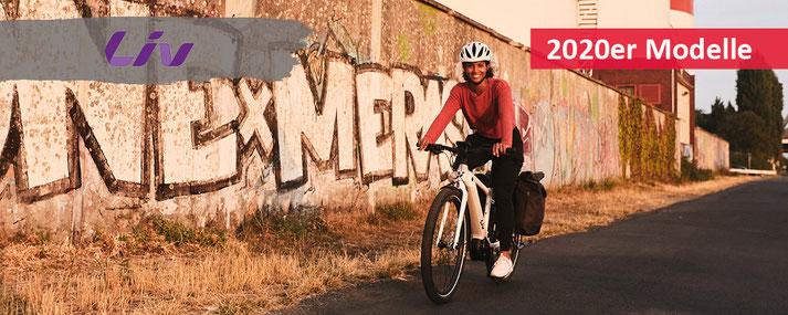Liv e-Bikes 2020 e-Mountainbikes und Trekking e-Bikes