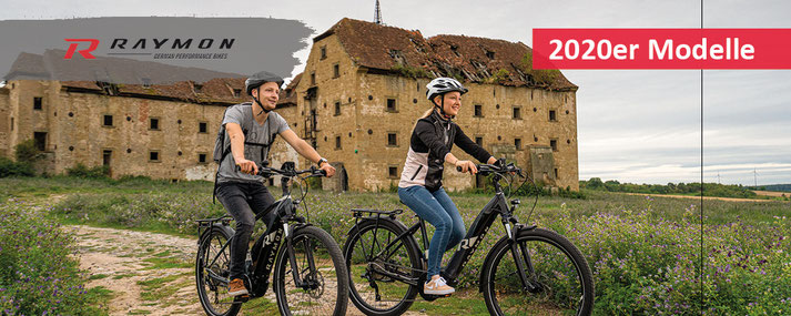 R Raymon e-Mountainbikes, Trekking e-Bikes und City e-Bikes 2020 bei Ihrem e-motion e-Bike Experten Probefahren, Beratung und kaufen
