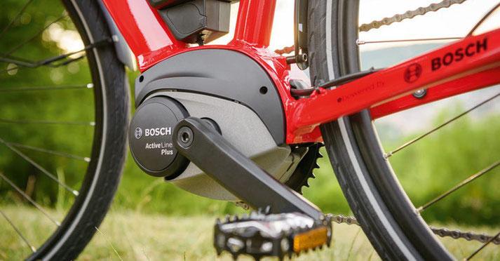 Akku Reichweite Bosch Active Line Antrieb