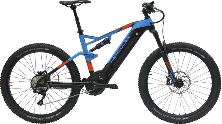 Hercules NOS FS CX Comp I - e-Mountainbike - 2019