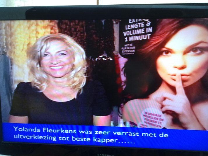 Yolanda op TV