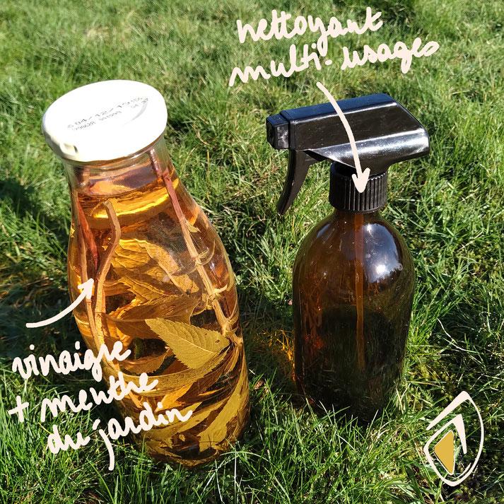 comment parfumer le vinaigre blanc pour fabriquer son nettoyant multi-usages écologique