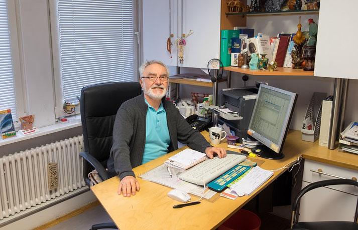 Dr. med Fritz Kern Allgemeinmediziner Hausarzt Werderplatz Karlsruhe