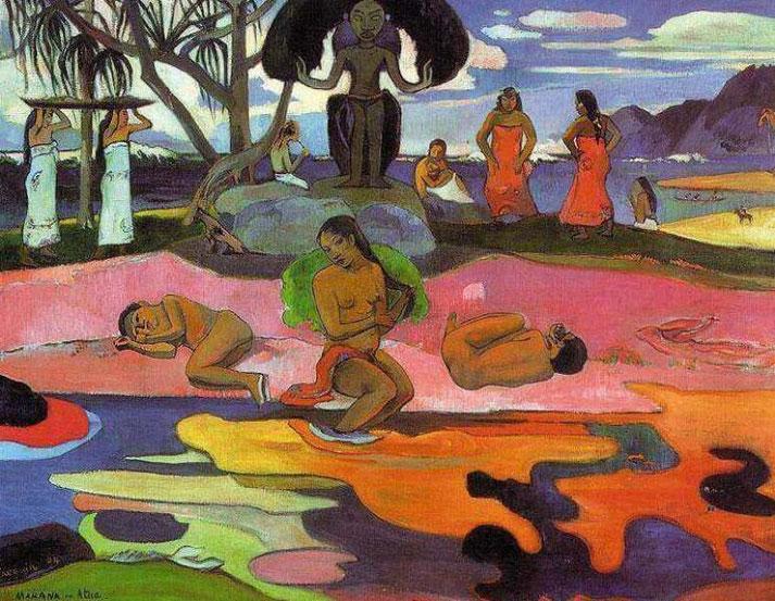 День божества - Поль Гоген (1894)