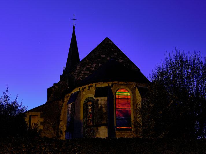 Stephane Moreau Photographe Chalonnes sur Loire heure bleue fujifilm gfx50r gfx100