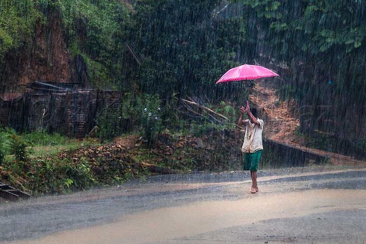 Lluvia monzónica