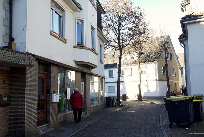 Die Straße Breite Techt in Attendorn