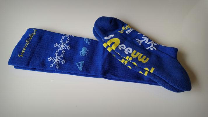 Kniekousen | Hoge sokken met logo laten maken op maat