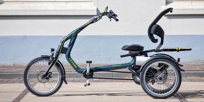 Elektrodreirad für Behinderte