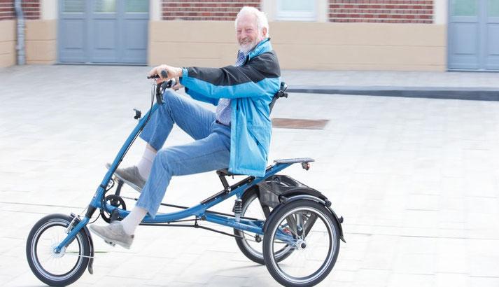 Dreirad und Elektrodreiräder für Senioren