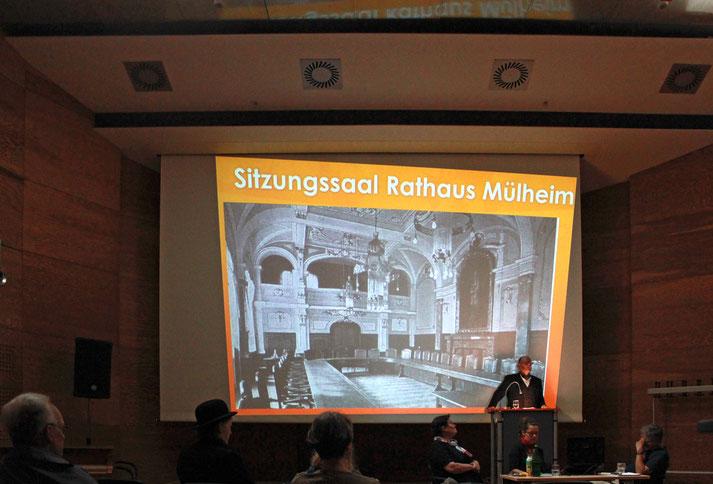 MÜLHEIMER TAG Szenische Lesung der Geschichtswerkstatt Mülheim