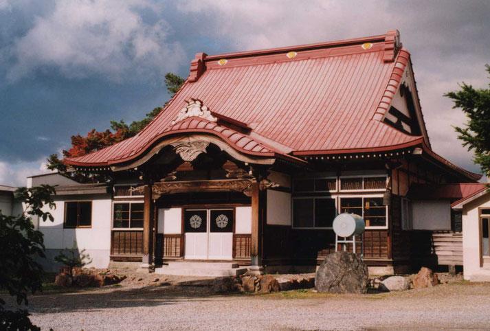 東川寺改築前・本堂