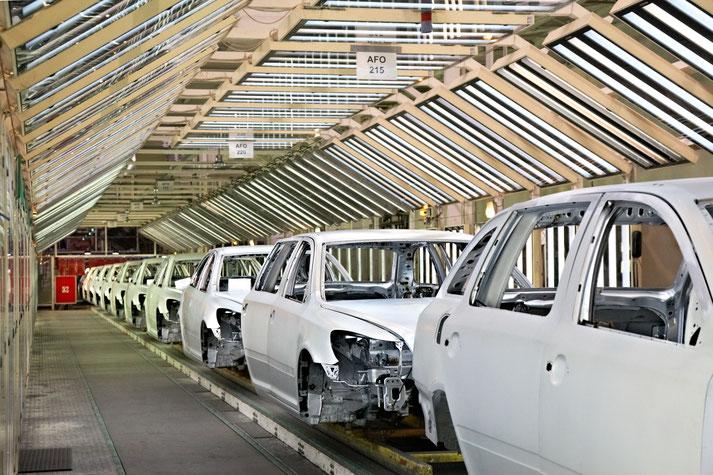 Automobilindustrie Lampenband mit Tageslicht