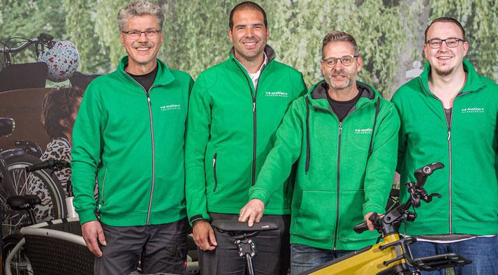 Das Team der e-motion e-Bike Welt Moers