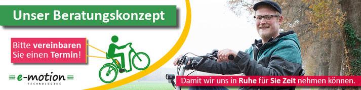 Sie möchten ein Dreirad im Dreirad-Zentrum Köln kaufen oder erst einmal testen? - Vereinbaren Sie einen Termin, wir beraten Sie gerne!